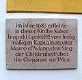 Wallfahrtskirche Mariahilf - Gedenkplakette.jpg