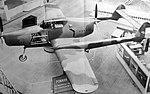 Walter Sagitta I-SR a Fokker D-XXIII na aerosalonu v Paříži (1939).jpg
