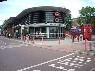 Walthamstow bus station - Image: Walthamstow bus station