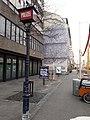 """Wandbild """"Fingerabdruck"""" von Jean-Pierre Zangger (1982) beim Polizeiposten an der Clarastrasse 38, Basel-Clara.jpg"""