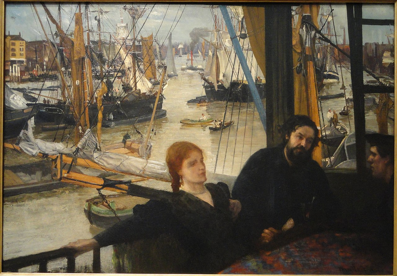 Oil Paintings By Whistler