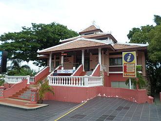 Surau - A surau in Malacca, Malaysia.