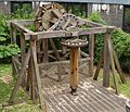 Water wheel, Aldersgate.JPG