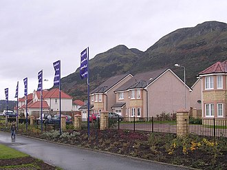 Bellway - A Bellway development in Clackmannanshire, Scotland