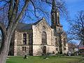 Wechmar Dorfkirche von Sueden.JPG