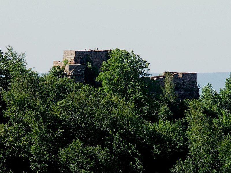 Wegelnburg bei Nothweiler