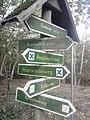 Wegweiser zwischen Kelbra und Kyffhaeuser (Brockenblick 0,2 km).jpg
