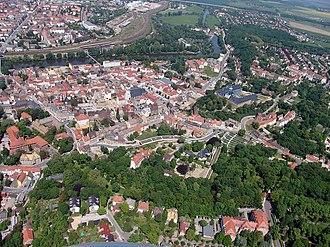 Weißenfels - Image: Weissenfels Luftbild