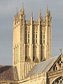 Wells Cathedral tower from the east.jpg