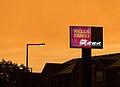 Wells Fargo Bank Sign Sunset (28052532561).jpg