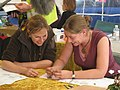 West Hanney, Oxfordshire, England -archaeology rally-11Sept2010 (1).jpg