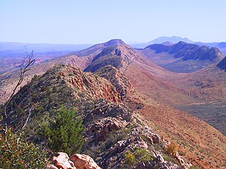 West MacDonnell National Park Protected area in the Northern Territory, Australia