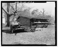 West rear and north side - Railey-Hall, Shed, State Highway 3-U.S. Highway 19 at Croxton Cross Road, Sumter, Sumter County, GA HABS GA-15-C-2.tif