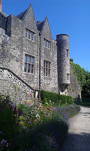 St Fagans Castle - Image: Western Walls of St Fagans Castle