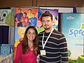 """When a children's television show star begs you to take a photo with her, you say """"yes""""..jpg"""