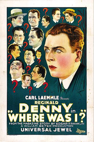 Where Was I? (film) - Film Poster