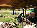 Whistle Wood Yurt Day - Volunteers 17 October 2015 (2).jpg