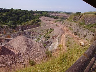 Wick, Gloucestershire - Wick Quarry