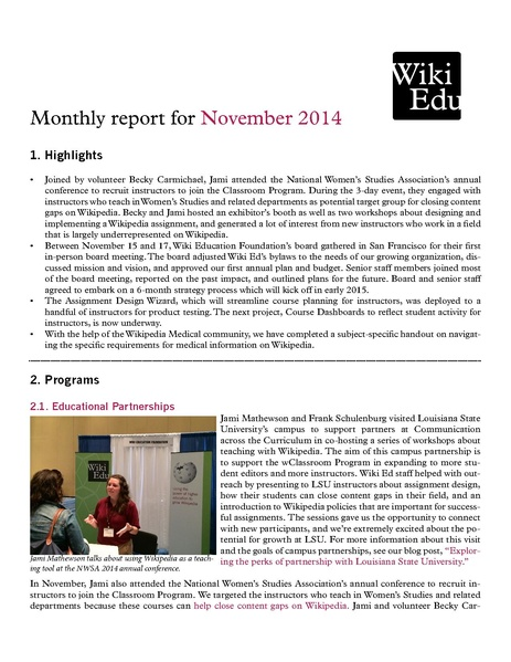 File:Wiki Education Foundation Monthly Report 2014-11.pdf