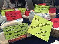 Wikimania 2015 - WikiCheese Mexico 06.jpg