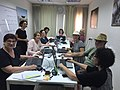 Wikimedia Israel Senior Citizens editing course, summer 2018 - 2.jpg