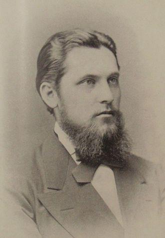 Wilhelm von Finck - Wilhelm Finck, around 1883