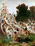 Les Oréades by William-Adolphe Bouguereau