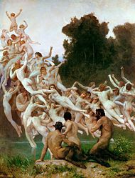 William-Adolphe Bouguereau: The Oreads