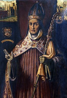 William of Wykeham 14th-century Bishop of Winchester and Chancellor of England