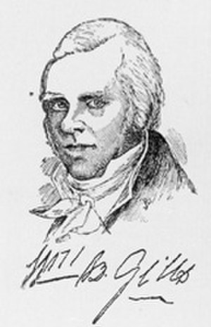 Giles County, Virginia - William Branch Giles, for whom the county was named