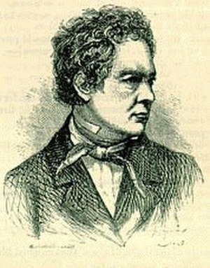 William Gilmore Simms - Drawing of Simms
