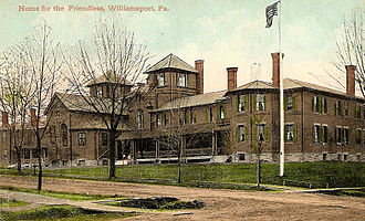 Williamsport, Pennsylvania - Williamsport Home for the Friendless, c. 1910