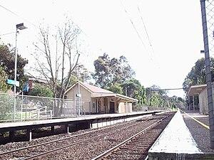 Alamein railway line - Willison railway station