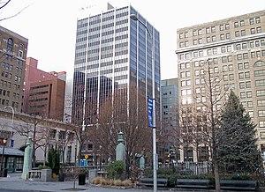 Rodney Square in downtown Wilmington, Delaware