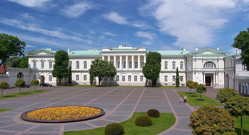 Wilno - Pałac prezydencki