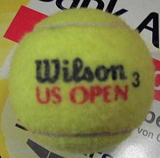 Wilson Sporting Goods - Image: Wilson US Open 3 front