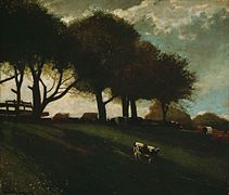 Winslow Homer - Twilight at Leeds, New York (1876).jpg