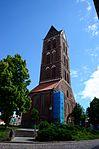 Wismar St. Marien , Blick auf den Turm 2.JPG