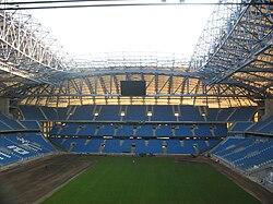 Kota Poznań dan Stadion Municipal Stadium