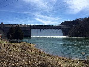 Wolf Creek Dam - Image: Wolf Creek Dam (2015)