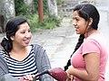 Women in Street - Rio Dulce - Izabal - Guatemala (15884930731).jpg