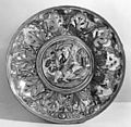 Workshop of Giorgio Andreoli - Dish with Saint John the Baptist in the Wilderness - Walters 481355.jpg