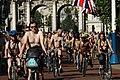 World Naked Bike Ride in London on The Mall, June 2013 (21).JPG