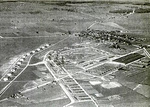Wilbur Wright Field - Wilbur Wright Field, circa 1920