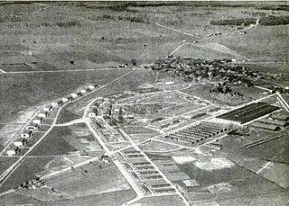 Wilbur Wright Field Military airfield in Ohio, USA now part of Wright-Patterson Air Force Base