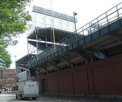 Lights, bleacher expansion, and exterior ivy