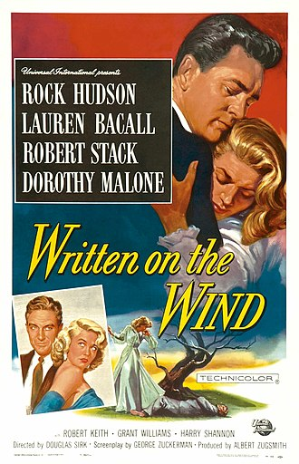 Written on the Wind - Original poster by Reynold Brown