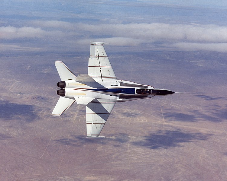 Fil:X-53 Active Aeroelastic Wing NASA test aircraft EC03-0039-1.jpg