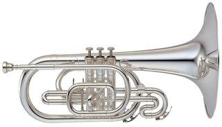 Mellophone brass instrument