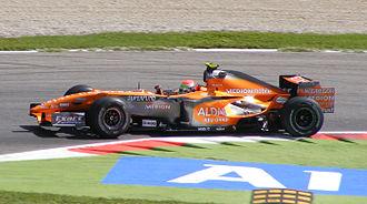 Sakon Yamamoto - Yamamoto driving for Spyker F1 at the 2007 Italian Grand Prix